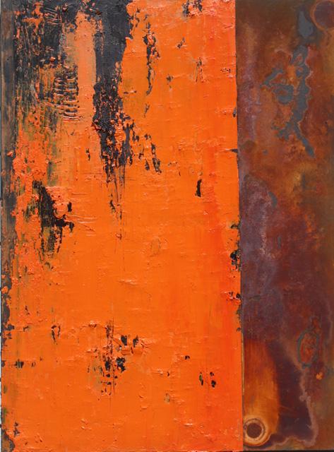 Willie Little Abstract - Blood Tangerine
