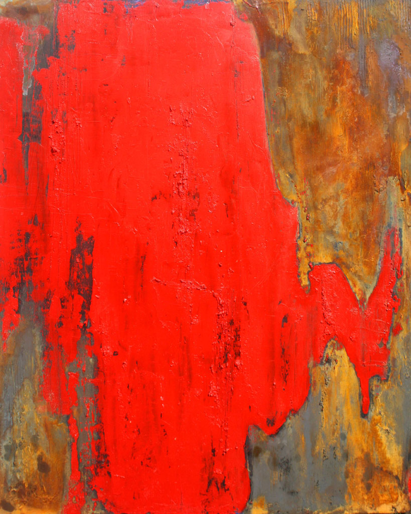 Willie Little Abstract - Red Canyon