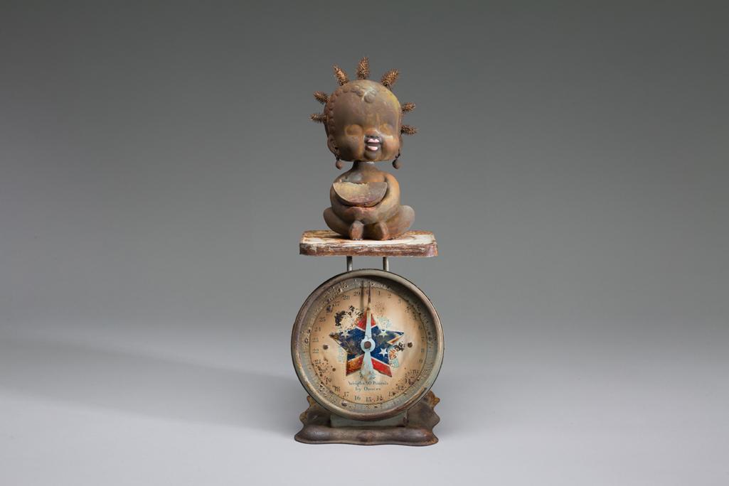 Wille Little - Nodder Dolls - Brown Sugah Lady Liberty