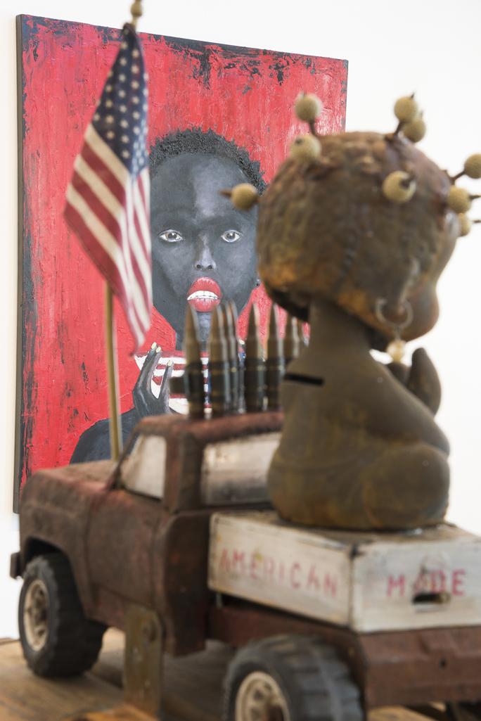 Wille Little - Nodder Dolls - That Strange Fruit and American Made