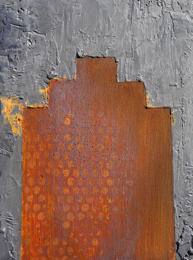 Juke Shack 2 d Circle Graphite Rust