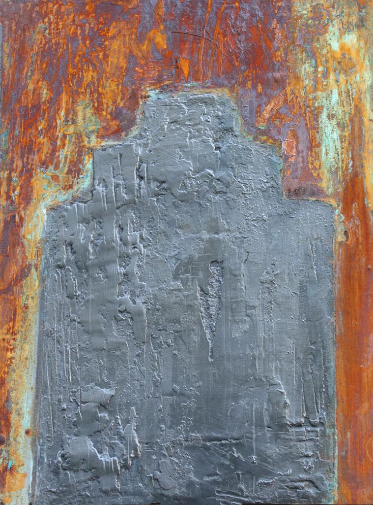 Juke Shack 2 d Graphite Rust Patina Back-Sold