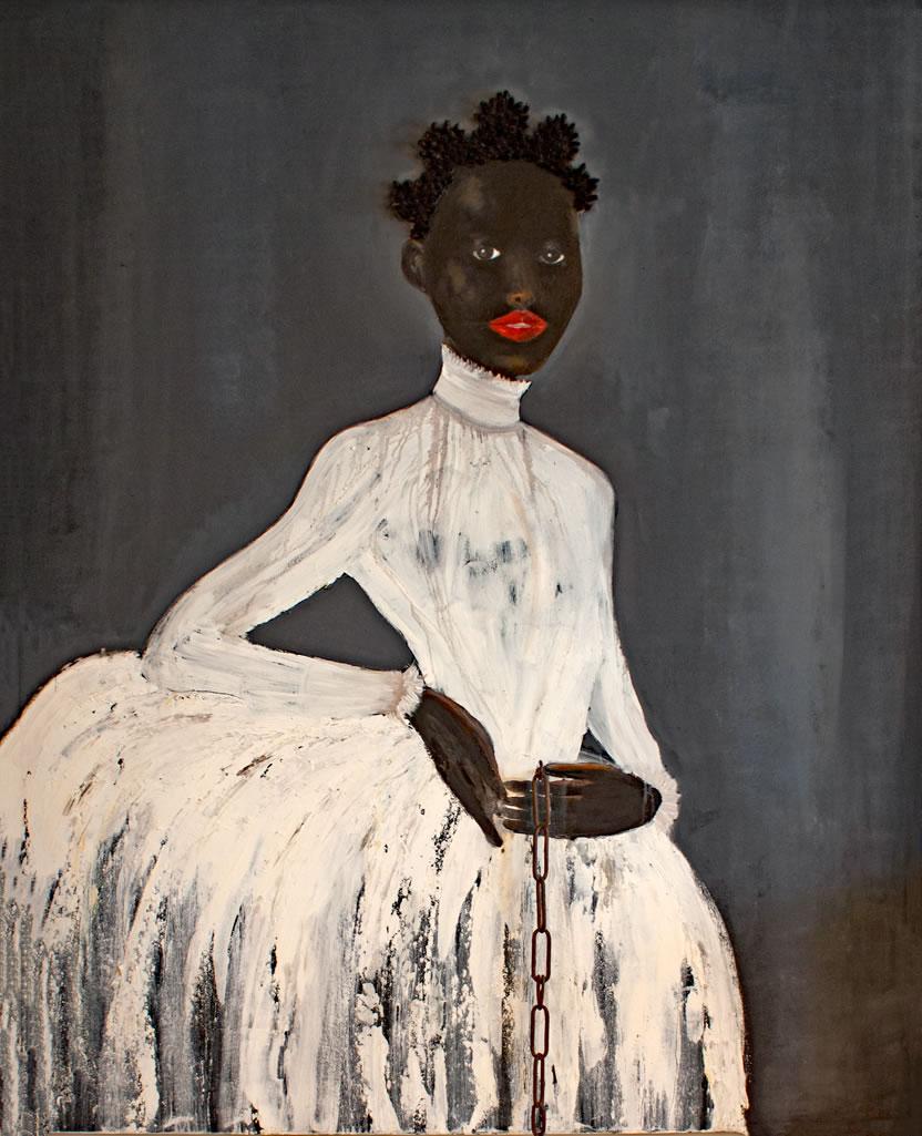 Simone (Commission) - Figurative - Willie Little