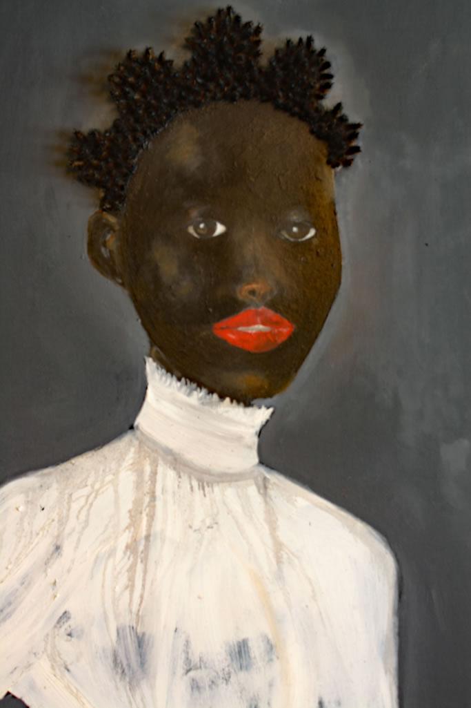 Simone Detail (Commission) - figurative - Willie Little
