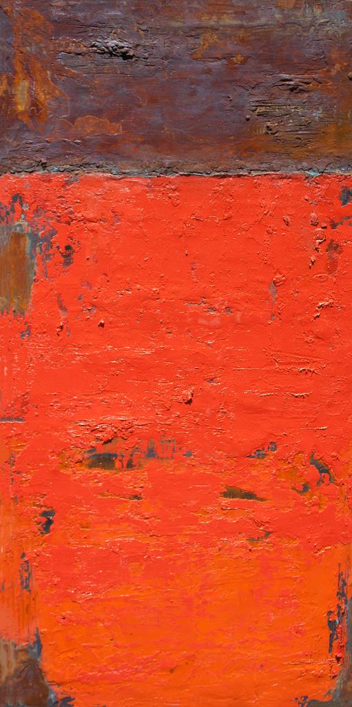 Abstract Orange & Rust