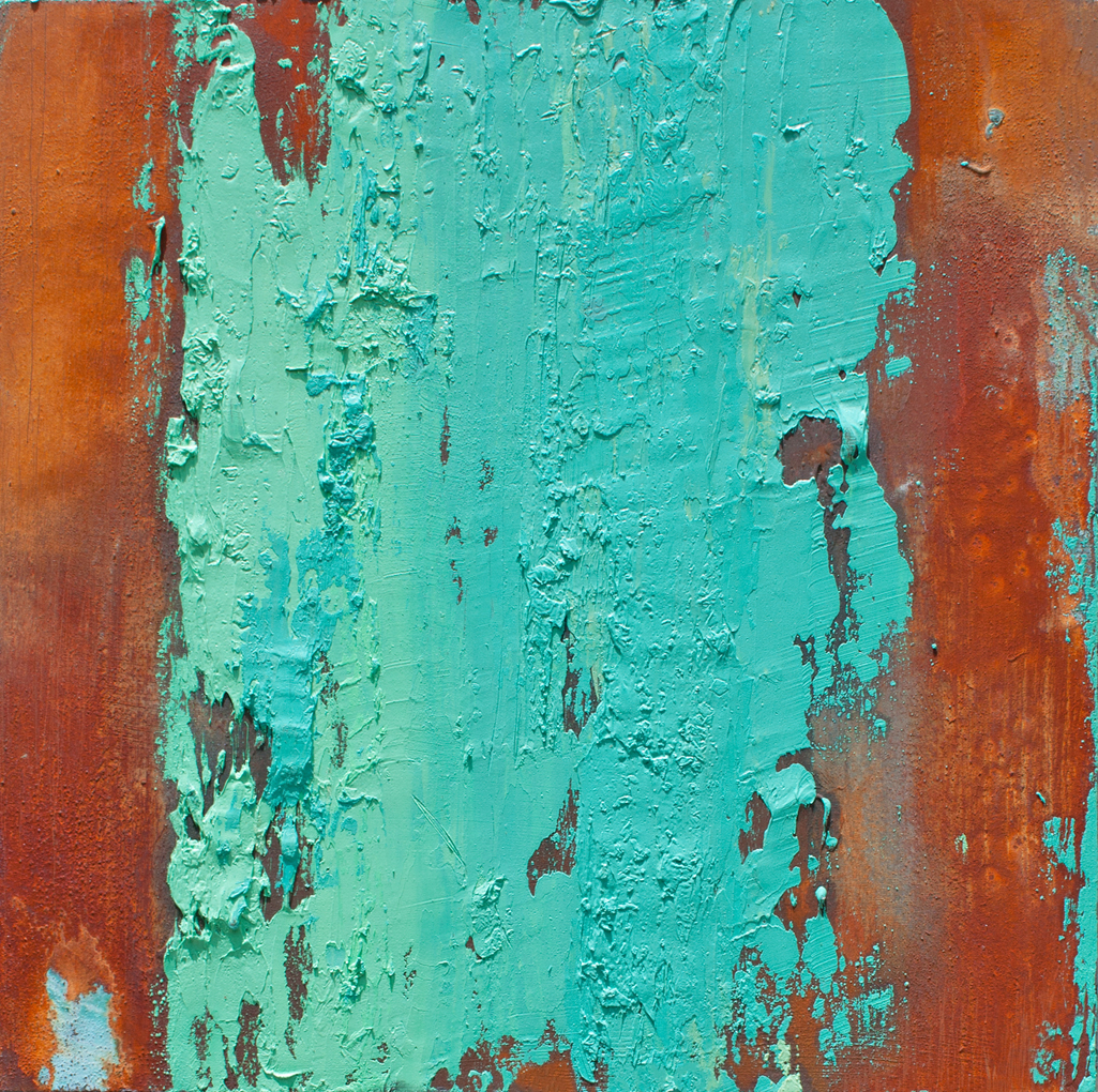 Teal & Rust - Palm Canyon