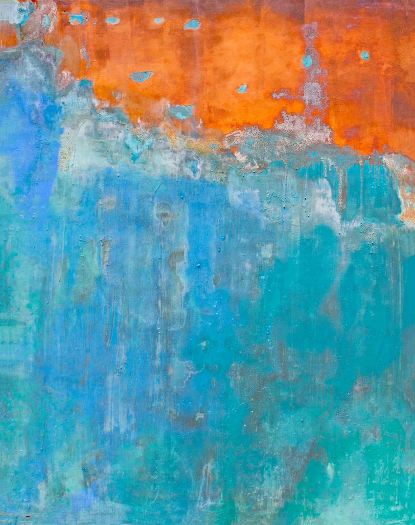 Tahoe Blue & Rust